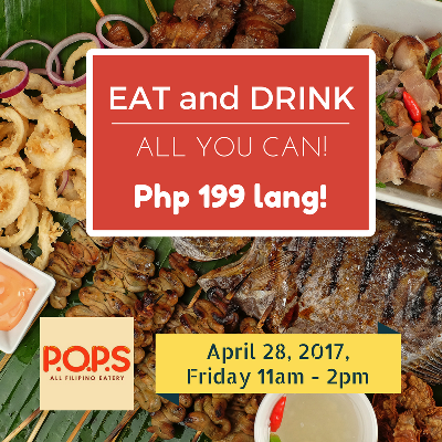 pops eat and drink all you can at p199 cdo promos. Black Bedroom Furniture Sets. Home Design Ideas