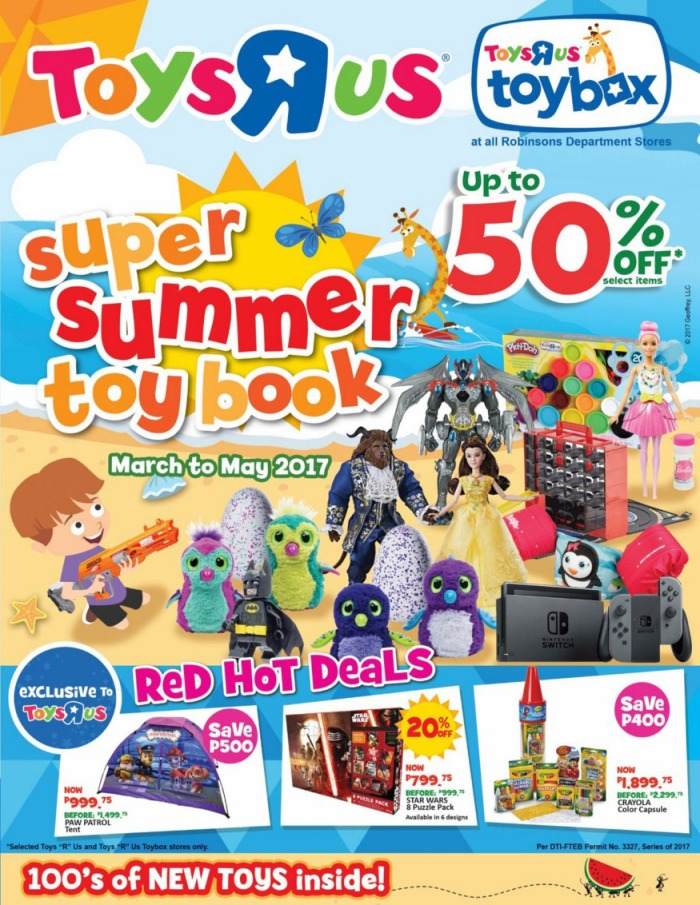 Toys R Us Super Summer Toy Book