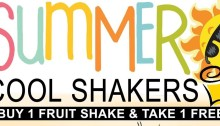 VIPhotel Summer Cool Shakers