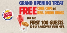 burger King CDO Opening