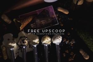 Freezie free Upscoop SM downtown Premier