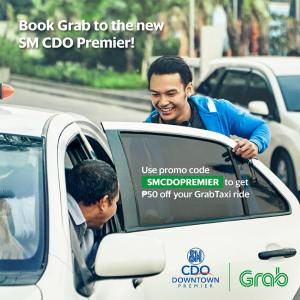 grab Taxi SM downtown premier opening