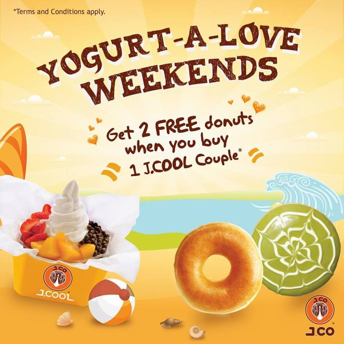 JCO Yogurt-a-love weekends
