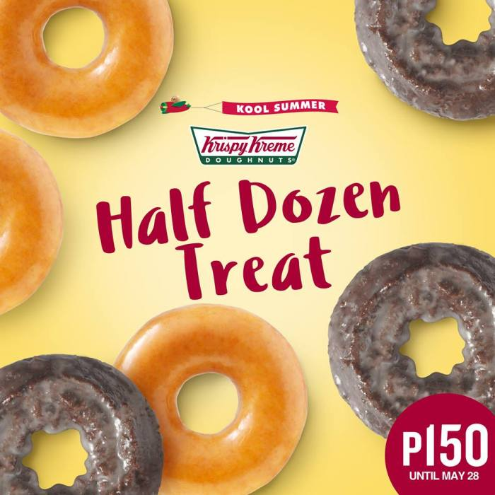 Krispy Kreme half Dozen treat