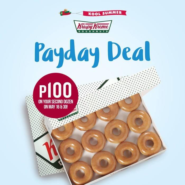 Krispy Kreme Payday Deal