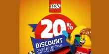 LEGO Summer sale