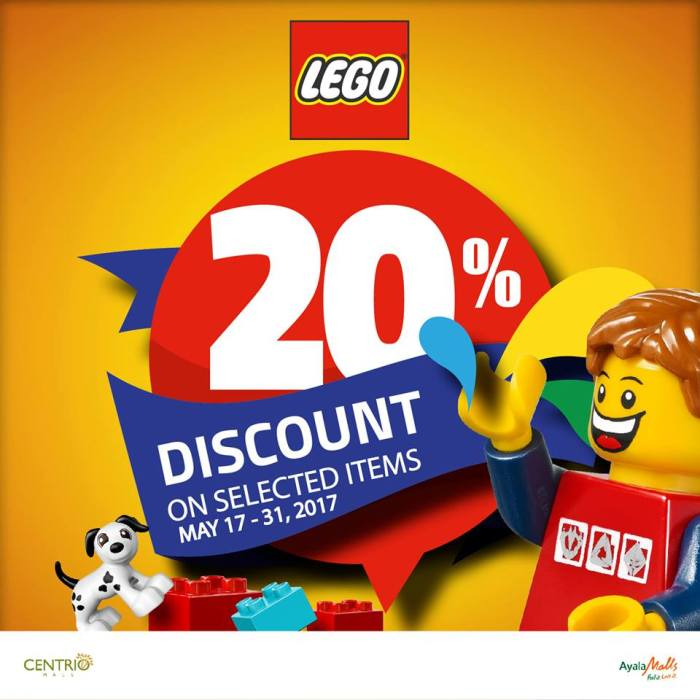 LEGO End of Season Sale