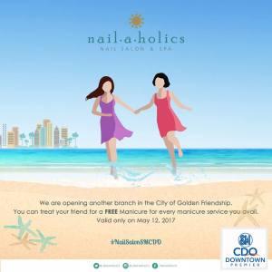 nailaholics free manicure