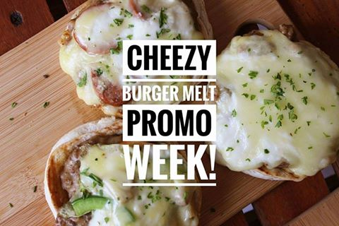Nics Cheezy Burger melt promo week