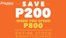 Payless ShoeSource P200 off