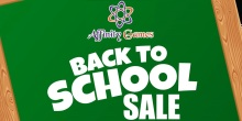 Affinity Games Back to School Sale