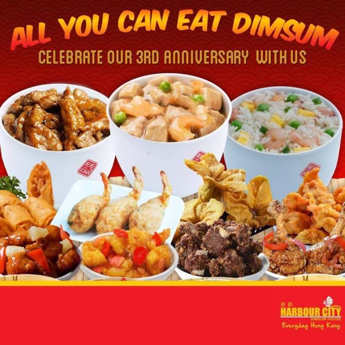 Harbour City all You Can Eat Dimsum