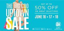 Big CDO Uptown Sale