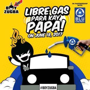 boy Zuga Blue Energy Libre Gas para kay Papa