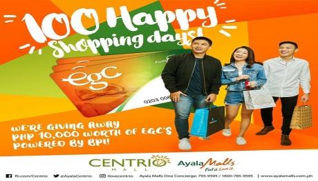 100 shopping Days