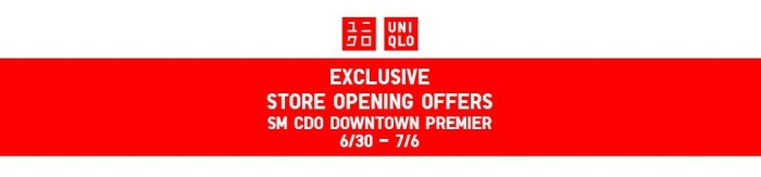 exclusive Store Opening Offers