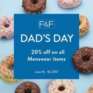 FandF Fathers Day Promo