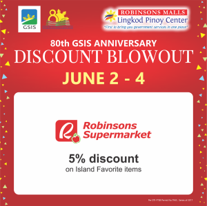 GSIS Robinsons Supermarket