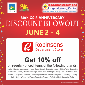 GSIS robinsons department store