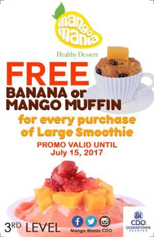 Mango Mania SM CDO Premier Opening