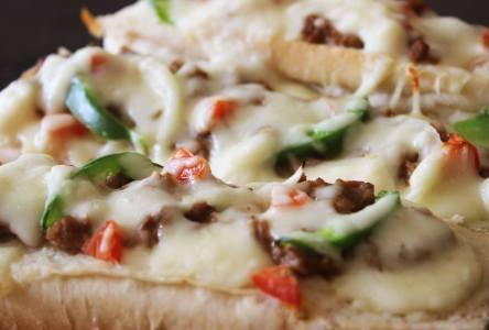 Nic's Pizza Baguettes