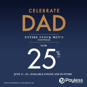 Payless Fathers Day