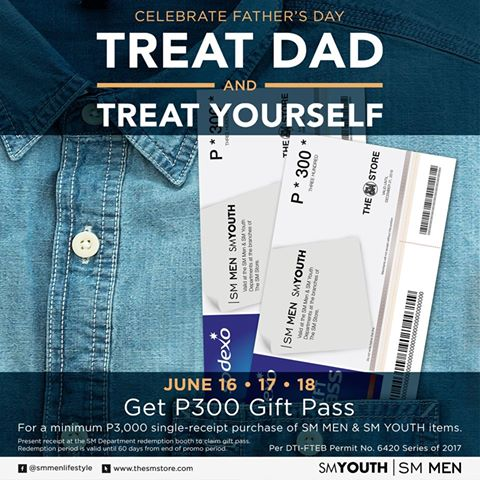 SM Big CDO Uptown Sale treat Dad