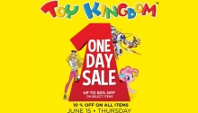 Toy Kingdom One Day Sale featured