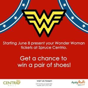 Wonder Woman Spruce Centrio