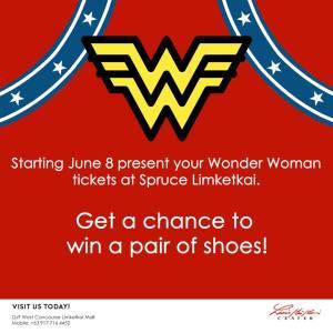 Wonder Woman Spruce Limketkai