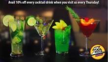 Zords Thursday Cocktail