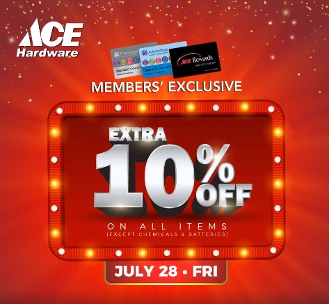 Ace Hardware door busting sale