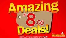 Harbour City Amazing 8 Peso Deals