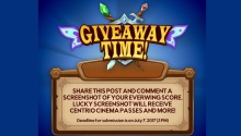 Centrio GiveAwayTime