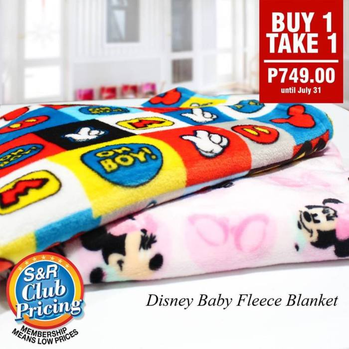 Disney Baby Fleece Blanket