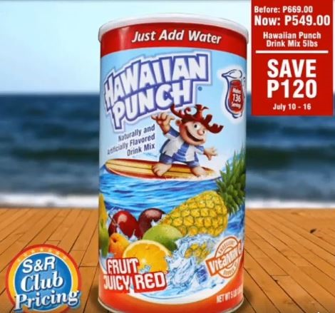 Hawaiian Punch Drink Mix Fruit Juicy Red