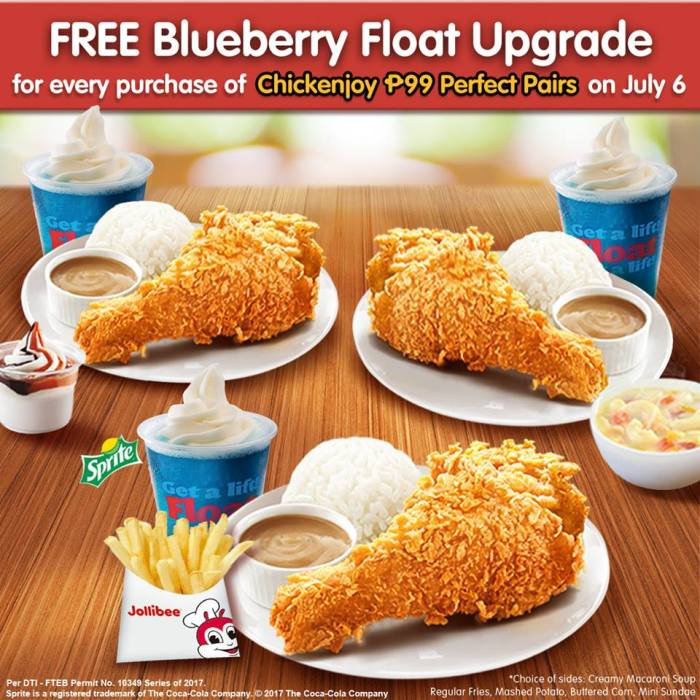 Celebrate National Fried Chicken Day At Jollibee Cdo Promos