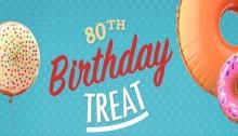 KK 80th birthday treat