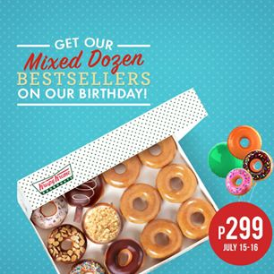 Krispy Kreme Mixed Dozen Best Sellers