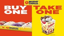 Mister Donut Buy 1 take 1 featured image