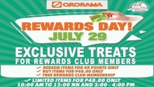 Ororama Rewards Day
