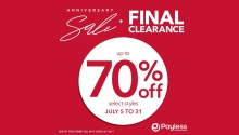 Payless Anniversary Sale featured