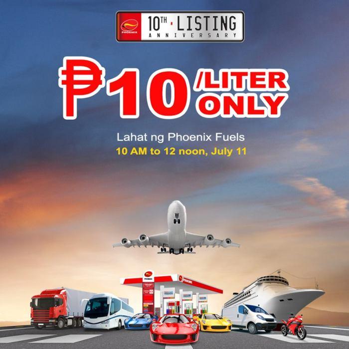 Phoenix P10 per Liter