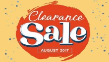 Robinsons Clearance Sale