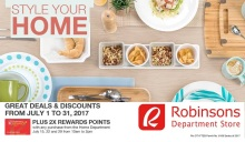 Robinsons Limketkai Home Deals