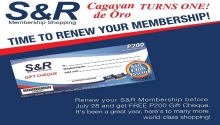 S&R Renew and get P200 GC
