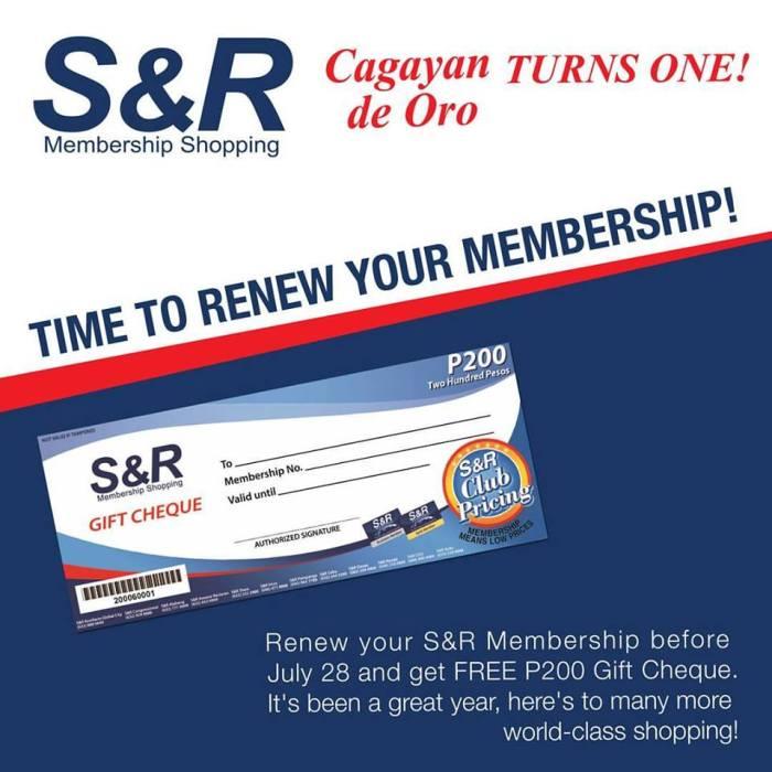 S&R CDO first anniversary