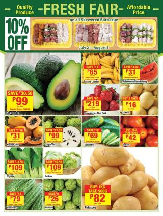 shopwise BigSave fruits