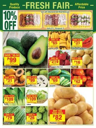 shopwise BigSave fruits