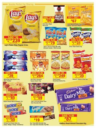 shopwise BigSave snacks